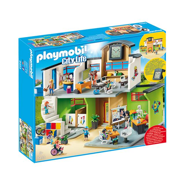 Playmobil City Life Furnished School Building