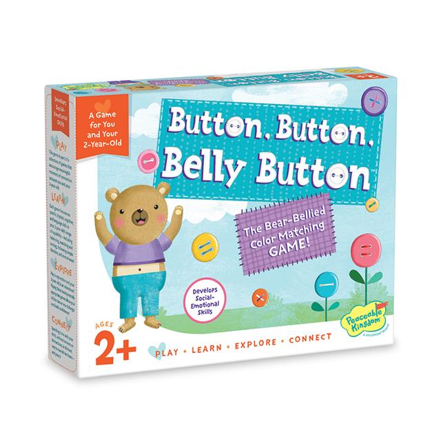 Peaceable Kingdom Button, Button, Belly Button