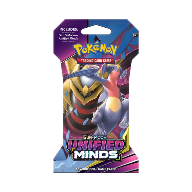 Pokémon TCG: Sun & Moon Unified Minds Sleeved Booster