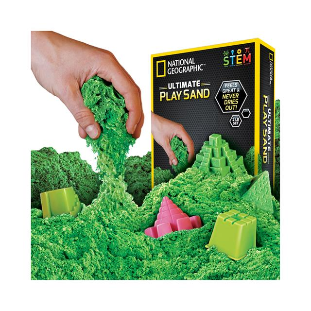 National Geographic™ Ultimate Play Sand - Green