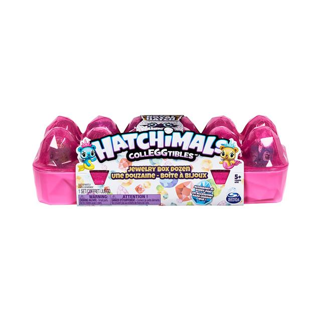 Hatchimals Colleggtibles Royal Hatch Jewellery Box Dozen