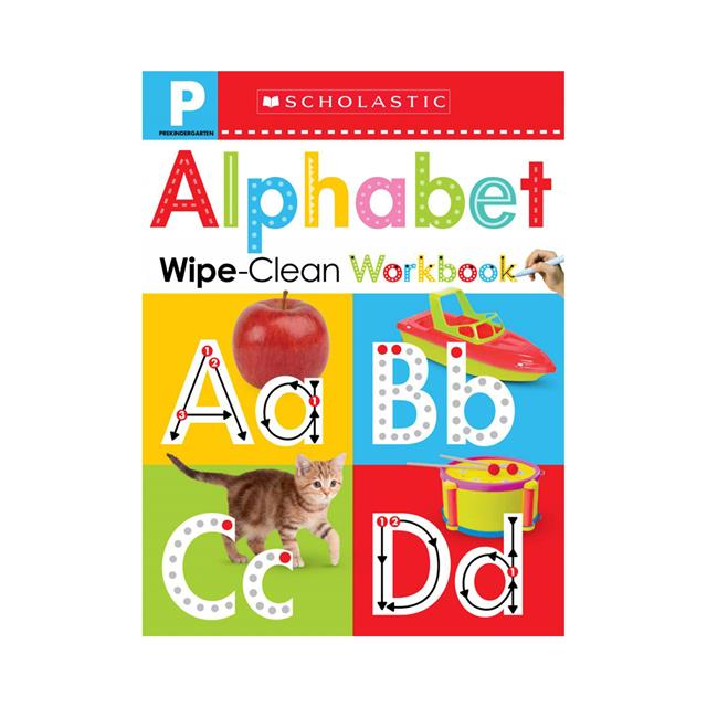 Scholastic Early Learners: Pre-K Alphabet Wipe-Clean Workbook