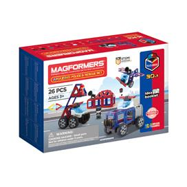 Magformers Police & Rescue Set 26pcs