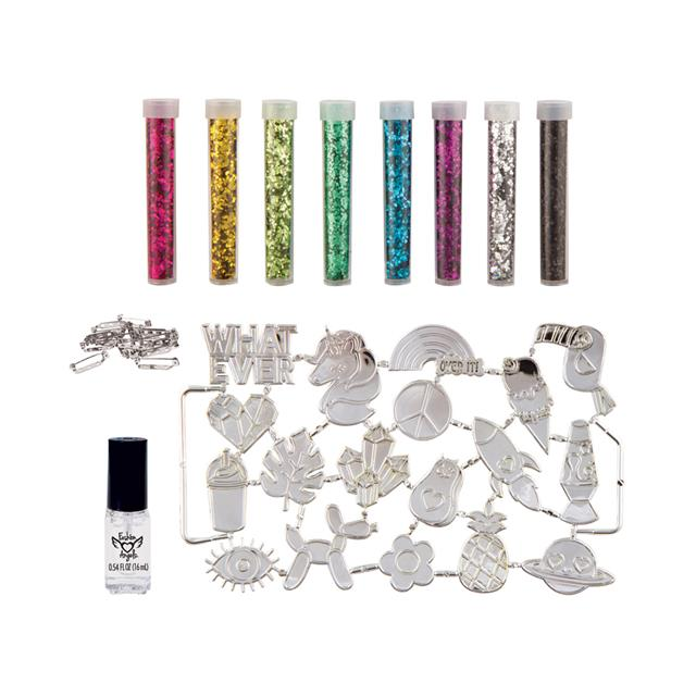 Fashion Angels® Born to Sparkle Glitter Pin Design Kit