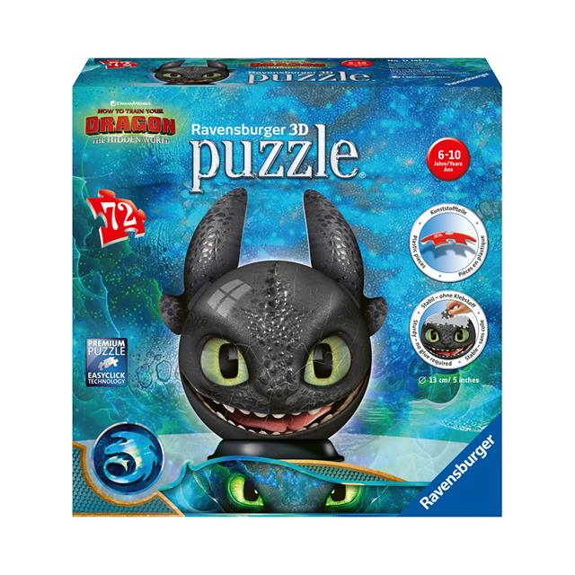 Ravensburger How to Train Your Dragon Toothless 3D Puzzle