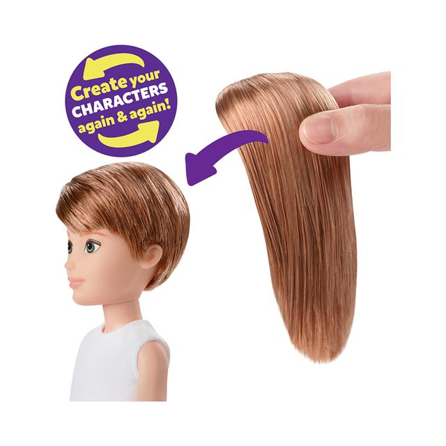 Creatable World™ Deluxe Character Kit Customizable Doll - Copper Straight Hair