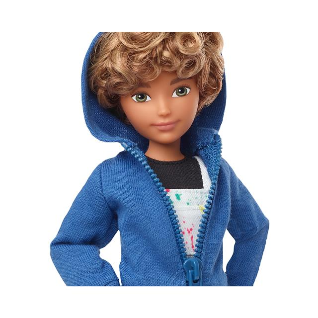 Creatable World™ Deluxe Character Kit Customizable Doll - Blonde Curly Hair