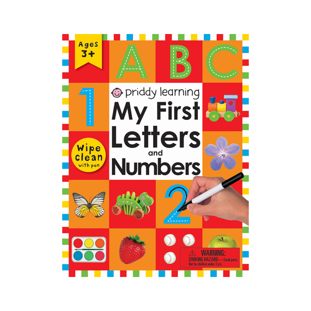 Priddy Learning: My First Letters and Numbers Wipe-Clean Workbook
