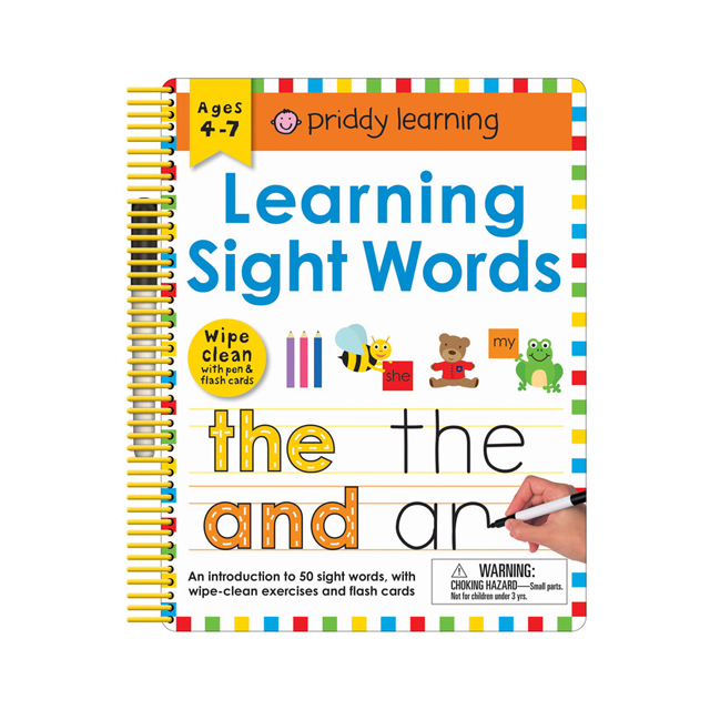 Priddy Learning: Learning Sight Words