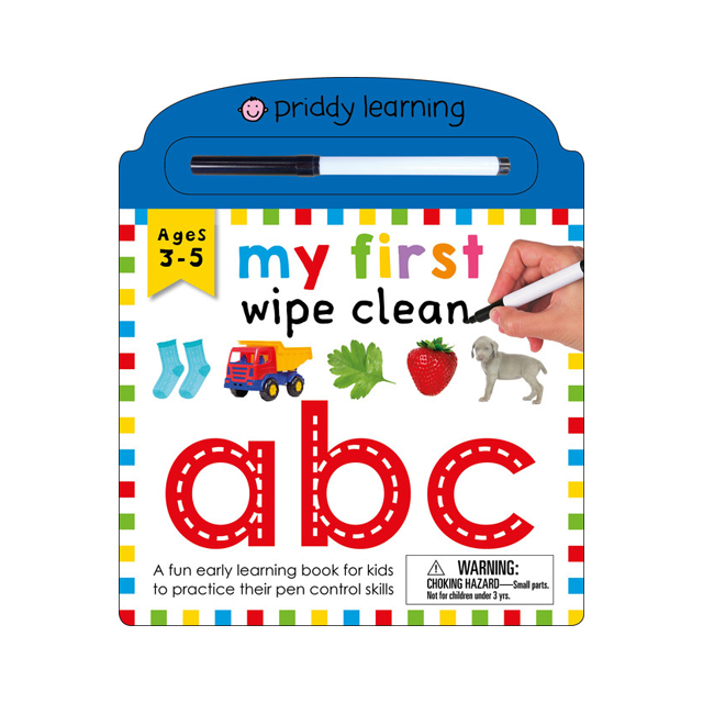 Priddy Learning: My First Wipe Clean: ABC