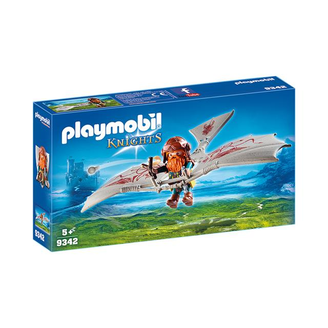 Playmobil Knights Dwarf Flyer