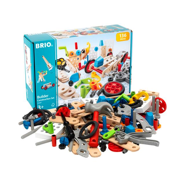 BRIO® Builder Construction Set 136pcs