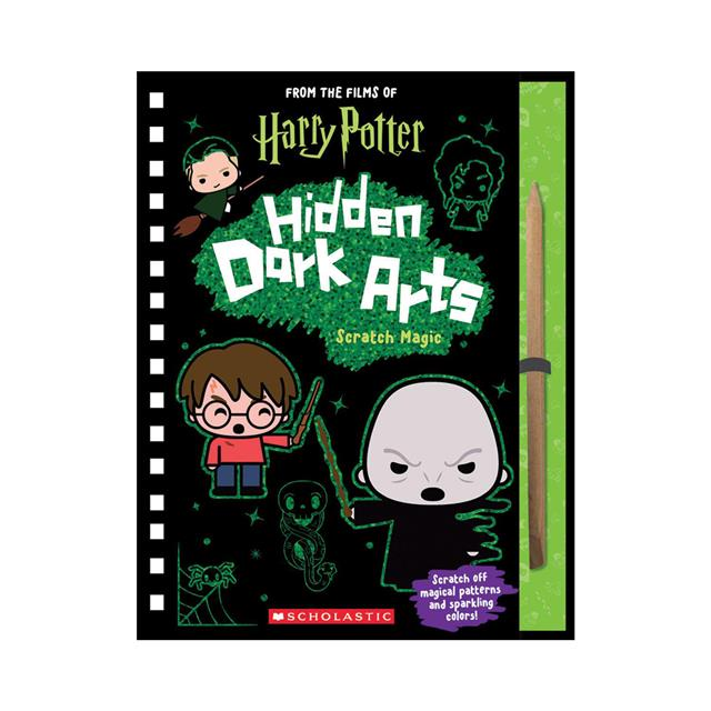From the Films of Harry Potter: Hidden Dark Arts Scratch Magic