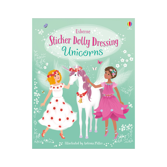 Usborne Sticker Dolly Dressing: Unicorns