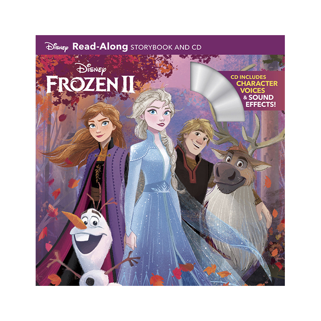 Disney Frozen II Read-Along Storybook and CD