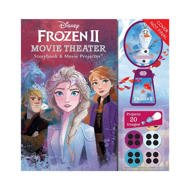 Disney Frozen II Movie Theater Storybook & Movie Projector
