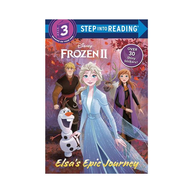 step into reading disney frozen ii elsa's epic journey
