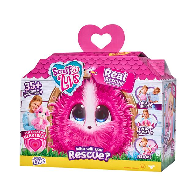 Little Live Scruff A Luvs Real Rescue Electronic Pet