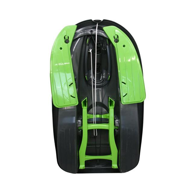 Stratos Sled - Mystic Black & Green