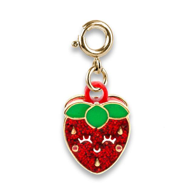 CHARM IT! Gold Scented Strawberry Charm