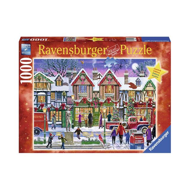 Ravensburger Christmas in the Square 1000pc Puzzle