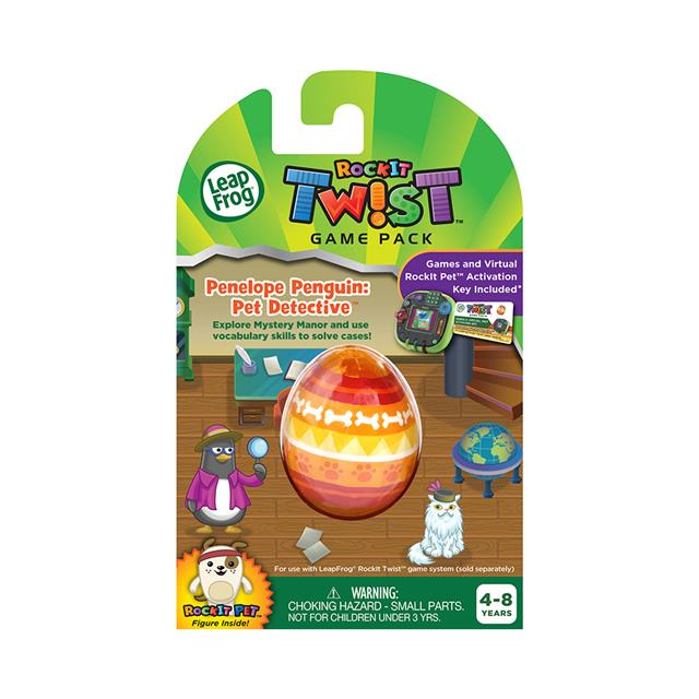 LeapFrog® RockIt Twist™ Game Pack Penelope Penguin: Pet Detective™