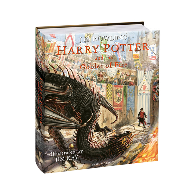 Harry Potter and the Goblet of Fire, Illustrated Edition
