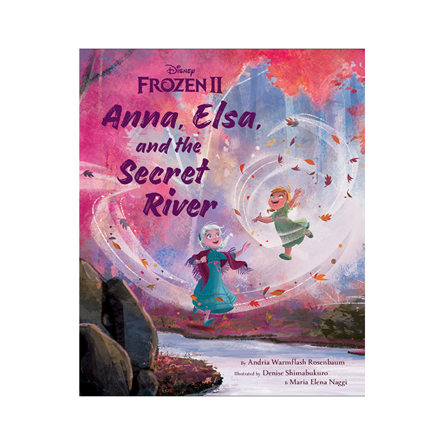 Disney Frozen II Anna, Elsa, and the Secret River