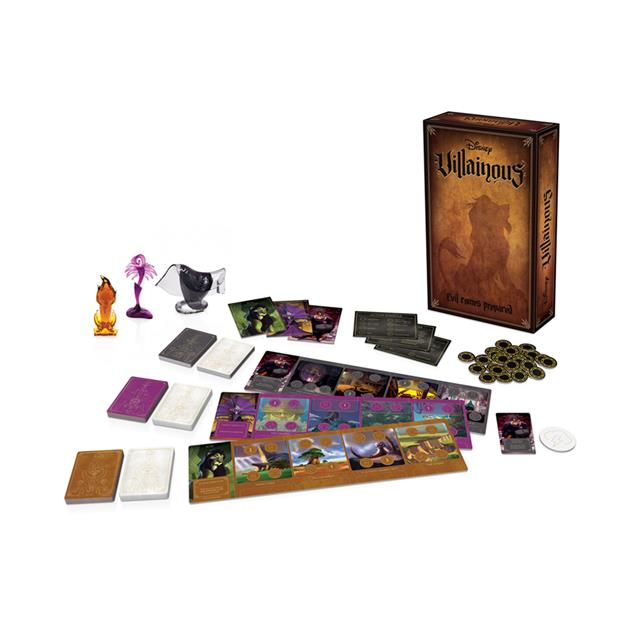 Disney Villainous: Evil Comes Prepared Expansion Pack