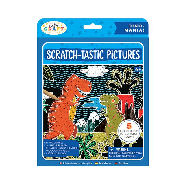 Let's Craft Scratch-Tastic Pictures