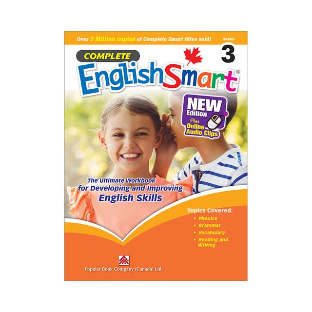 Complete EnglishSmart 7 Canadian Curriculum English Workbook for Grade 7