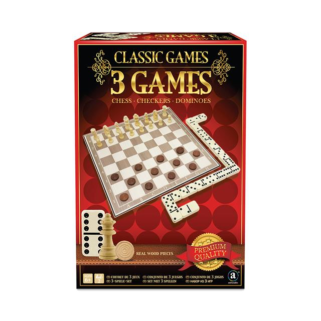 Classic Games 3-in-1 Games Collection