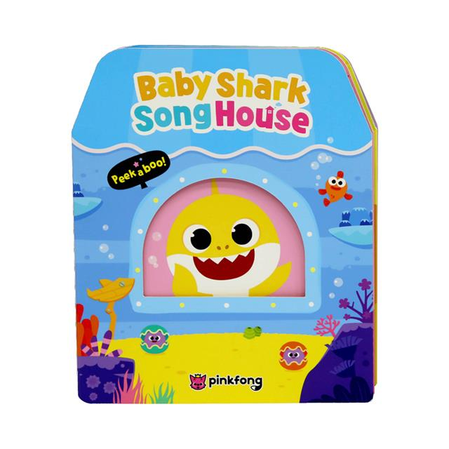 Pinkfong Baby Shark Sound Toy & Book