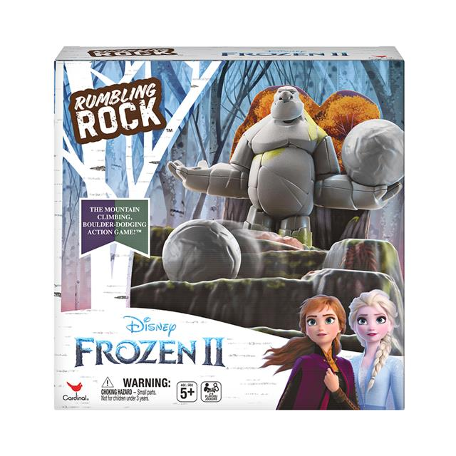 Disney Frozen II Rumbling Rock Game