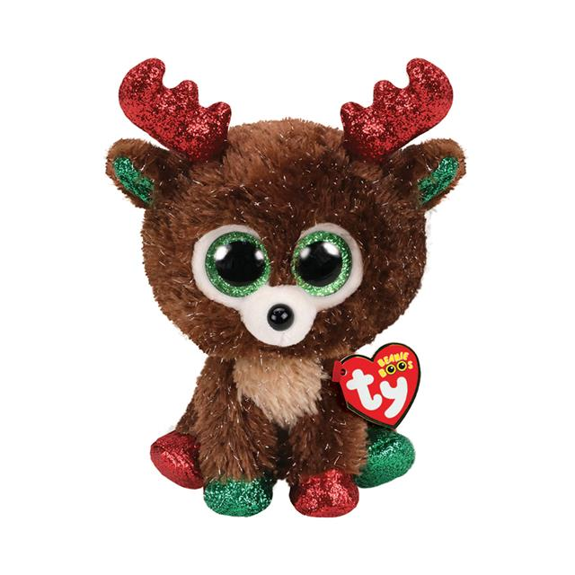 Ty Beanie Boos Fudge the Reindeer