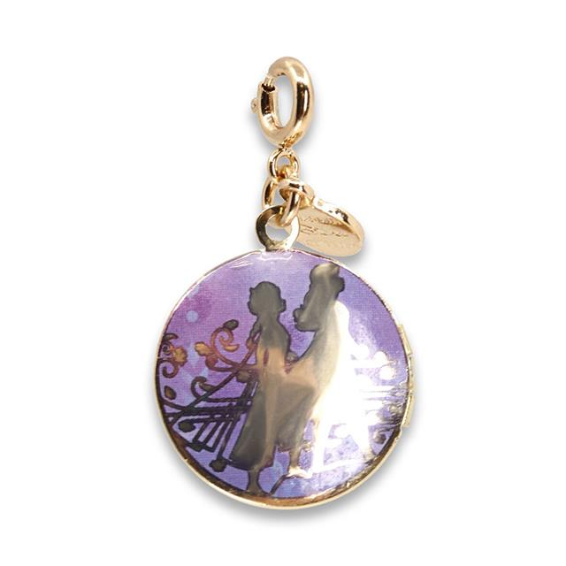 CHARM IT! Disney Frozen II Elsa & Anna Gold Locket Charm