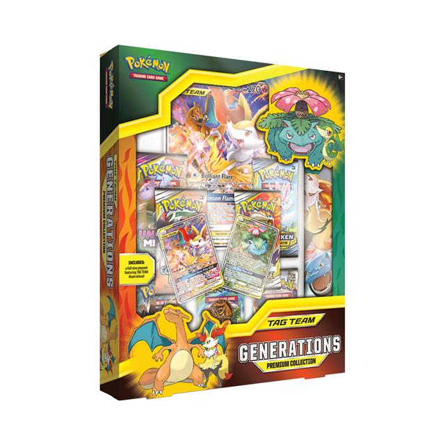 Pokémon TCG Tag Team Generations Premium Collection