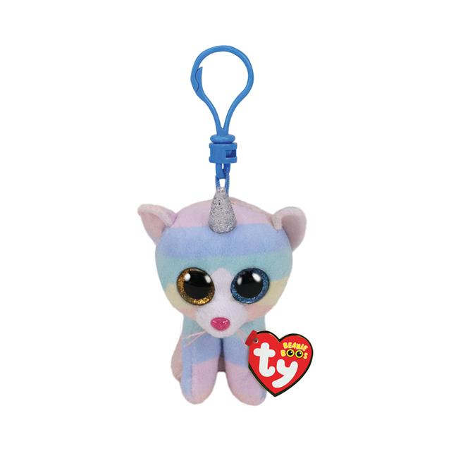 Ty Beanie Boos Clip-On Heather the Caticorn