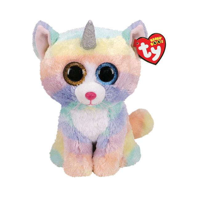 Ty Beanie Boos Medium Heather the Caticorn