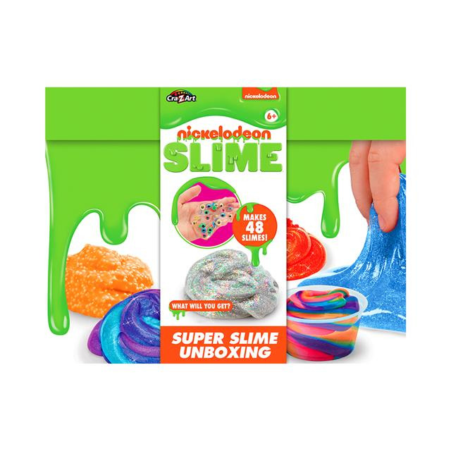 Nickelodeon Super Slime Unboxing Kit