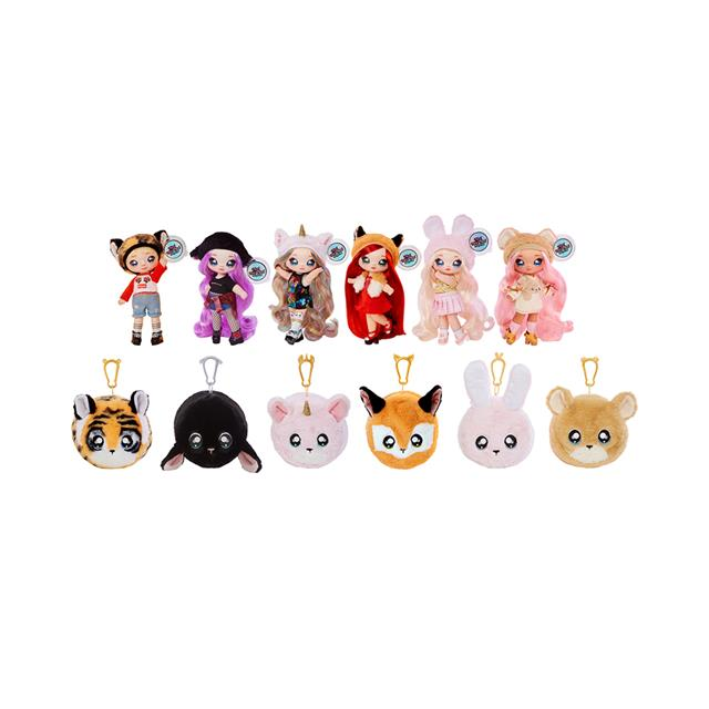 Na! Na! Na! Surprise™ 2-in-1 Fashion Doll & Plush Pom Series 1
