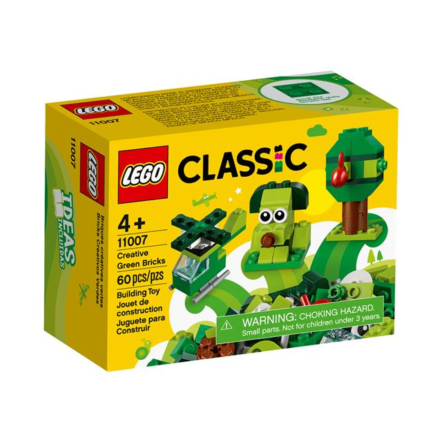 LEGO® Classic Creative Green Bricks