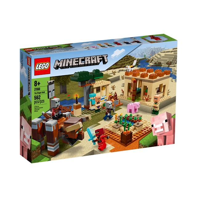 LEGO® Minecraft The Illager Raid