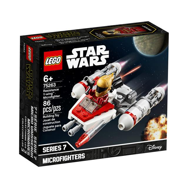 LEGO® Star Wars™ Resistance Y-wing Microfighter