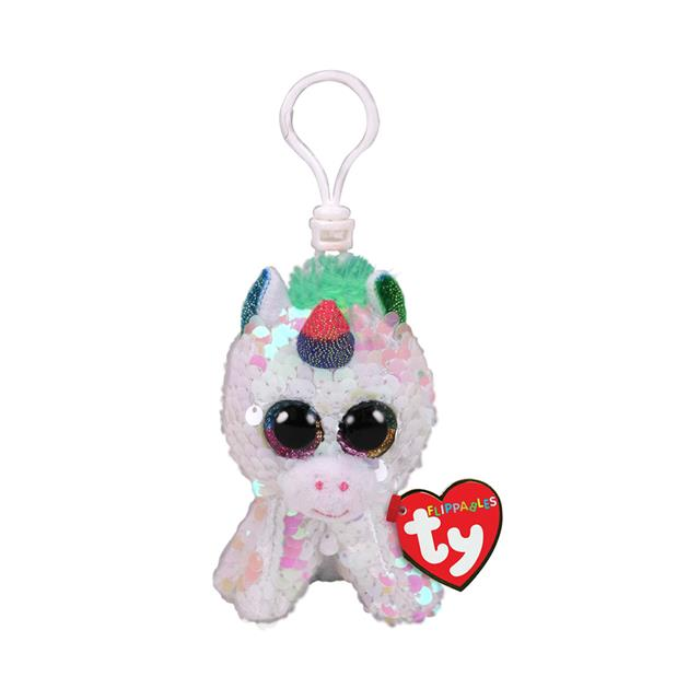Ty Flippables Clip-On Pixy the Unicorn