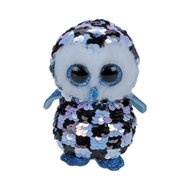 Ty Flippables Medium Topper the Owl