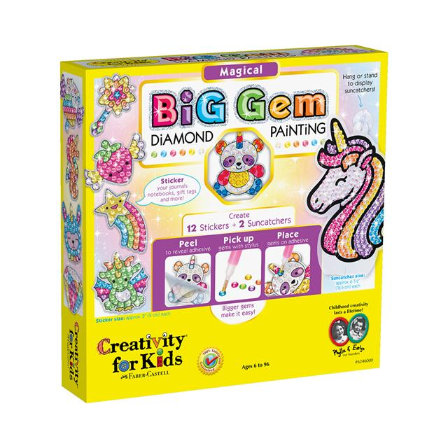 Creativity for Kids Big Gem Diamond Painting: Magical
