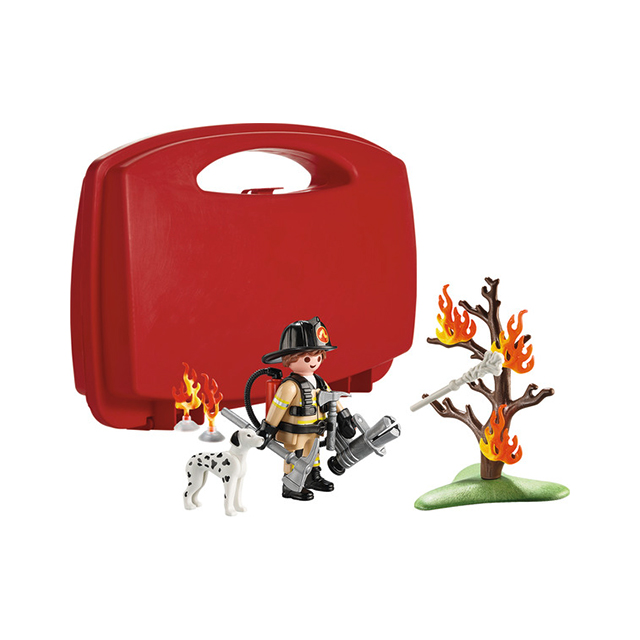 Playmobil City Action Fire Rescue Carry Case Small