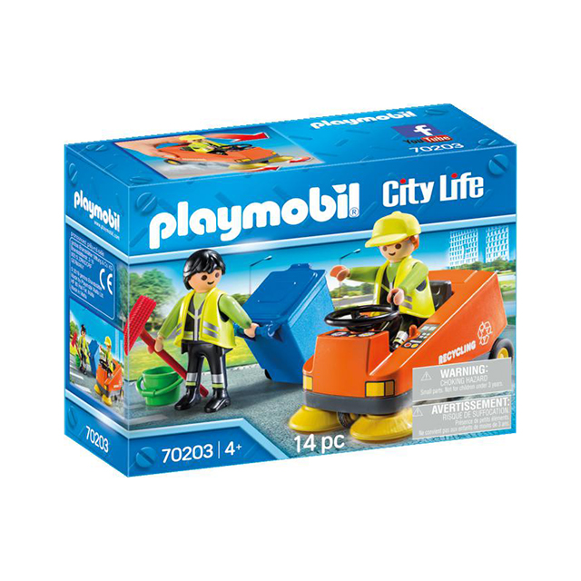 Playmobil City Life Street Cleaner
