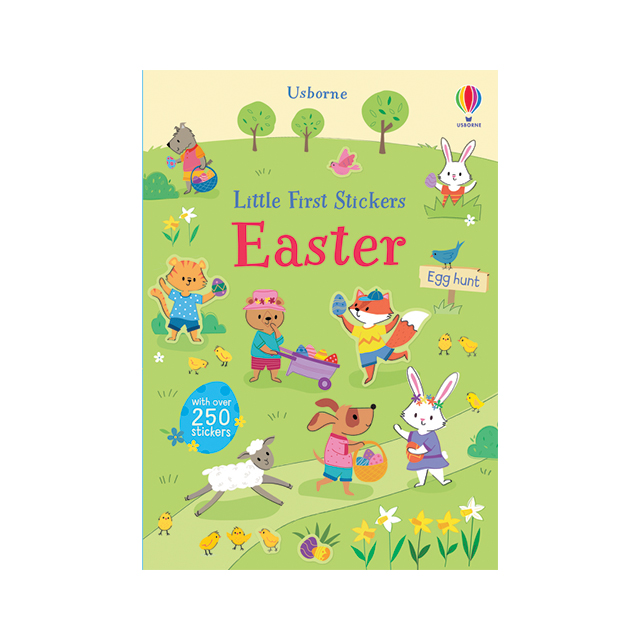 Usborne Little First Stickers: Easter